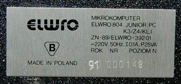 Elwro804Junior-tabliczka