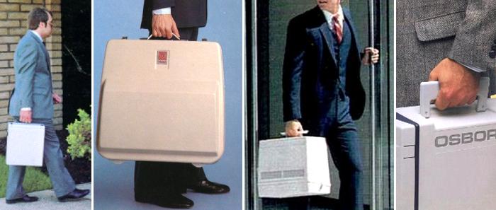 Komputery w walizkach